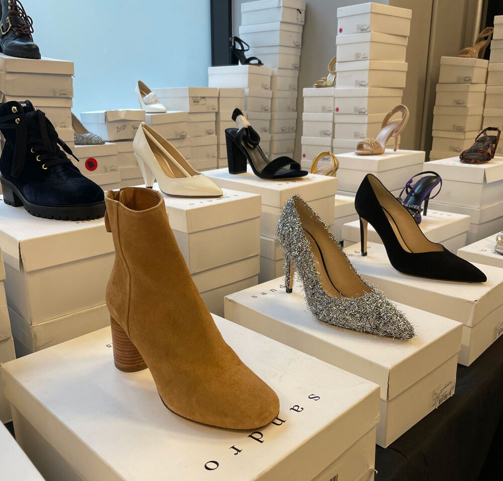 Pics from Inside the Sandro Sample Sale