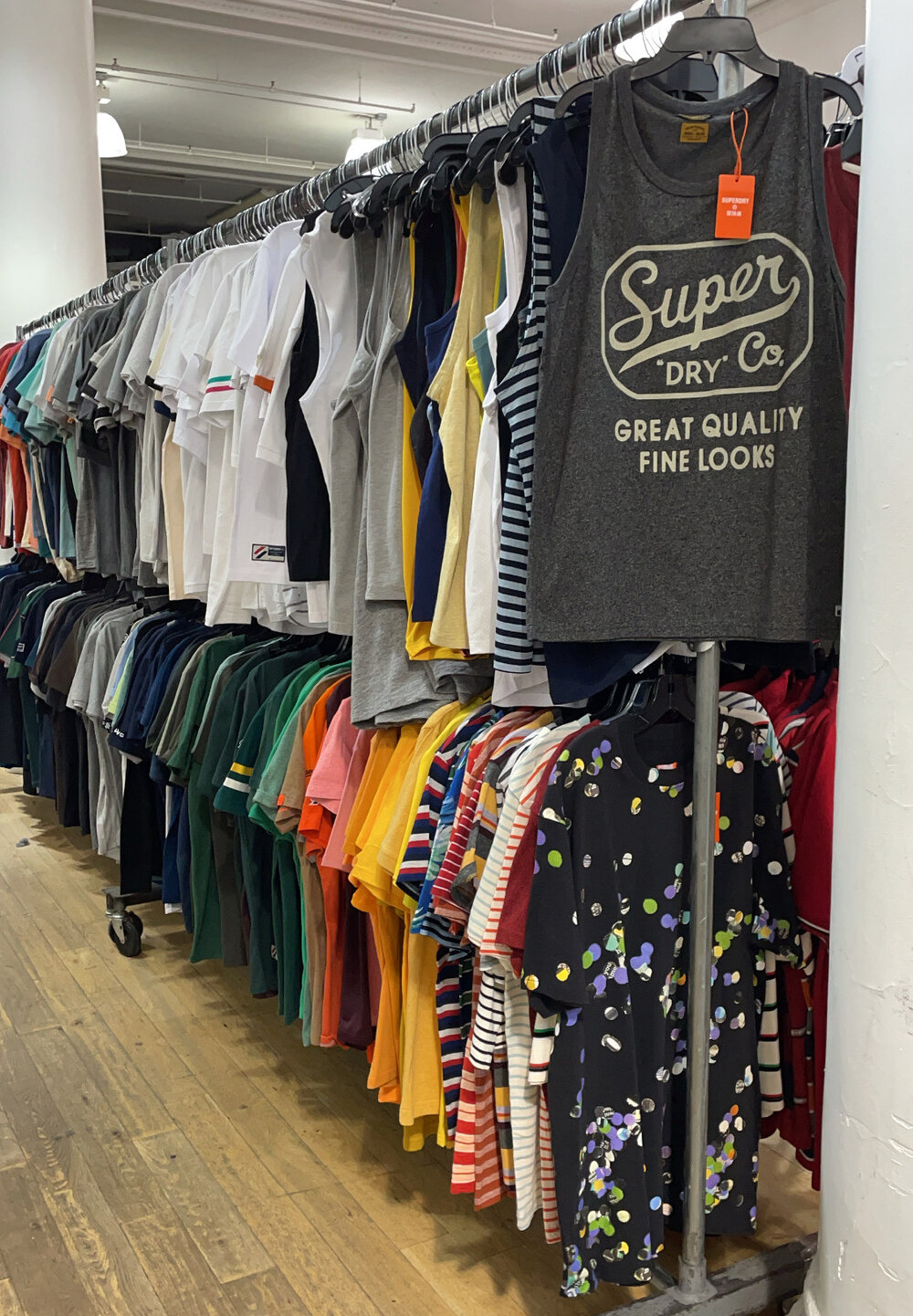 Superdry Sample Sale in Images