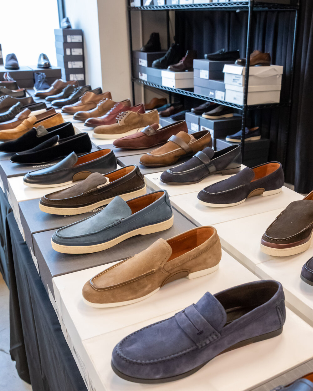 Pics from Inside the Zegna Sample Sale