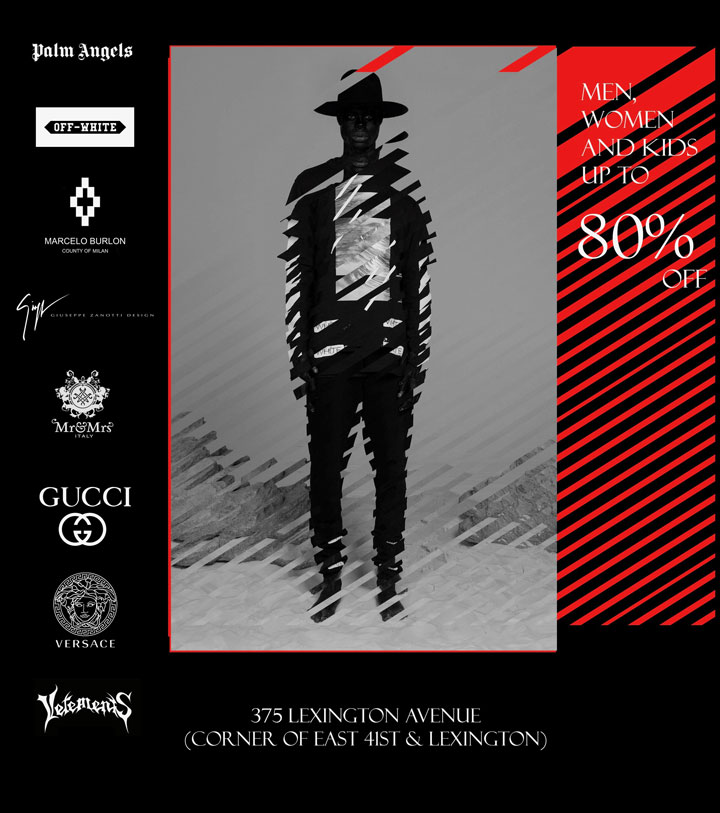375 Clothing & Accessories New York Pop-Up Sample Sale ...