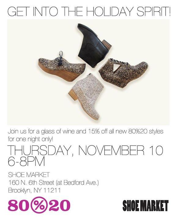 80%20 Shoe Party: 11/10
