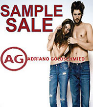 AG Adriano Goldschmied Jeans Sample Sale