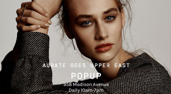 AUrate New York Pop-up Shop