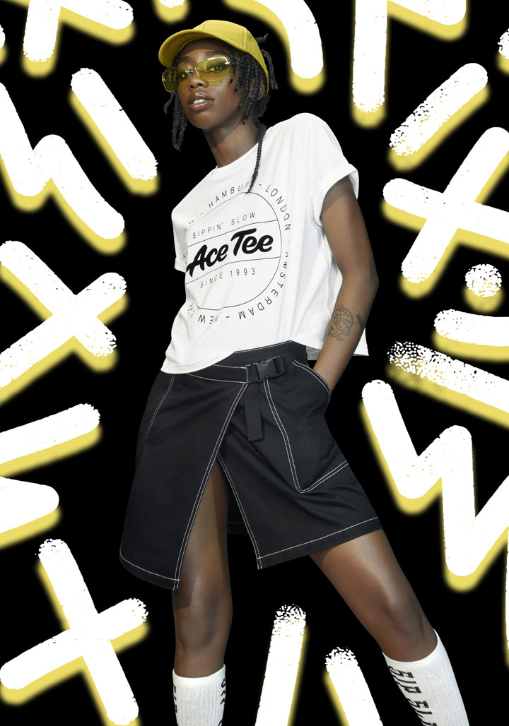 H&M Presents The Ace Tee X H&M Capsule Collection