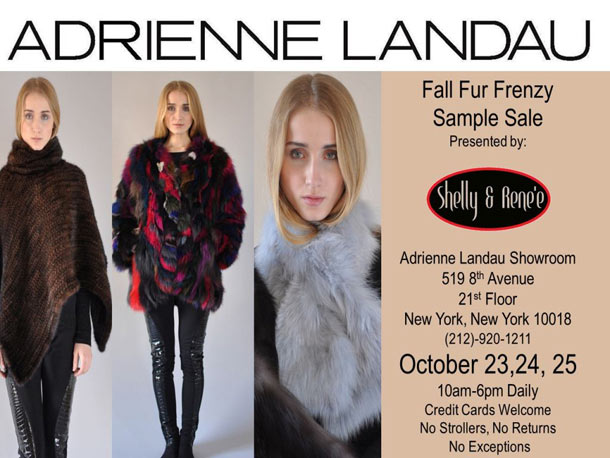 Adrienne Landau Sample Sale