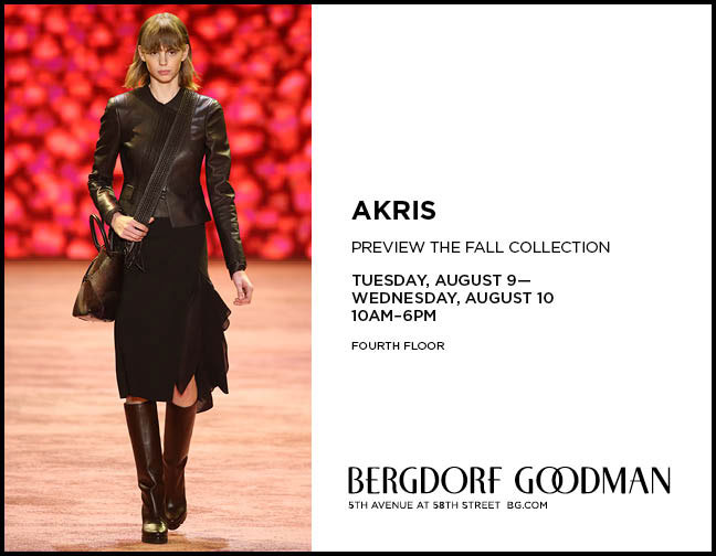 Akris Trunk Show