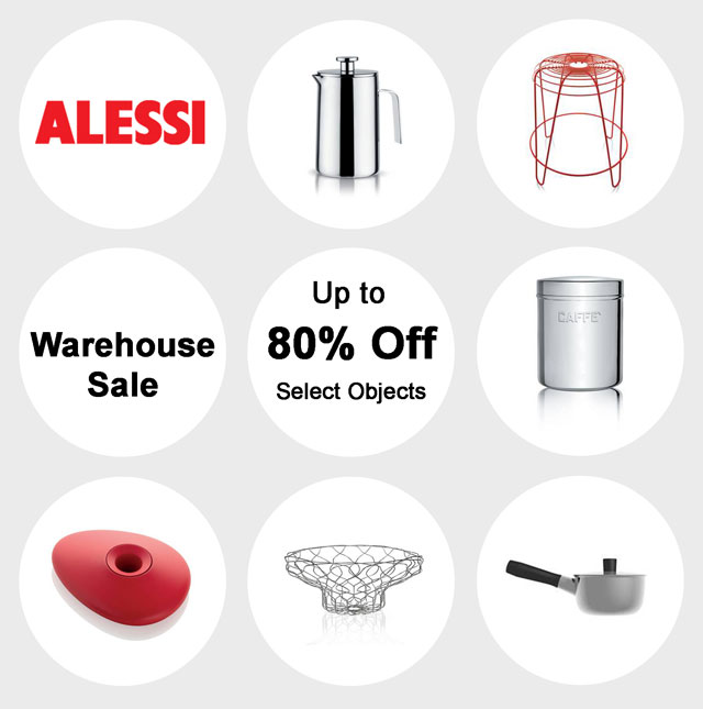 Alessi Warehouse Sale