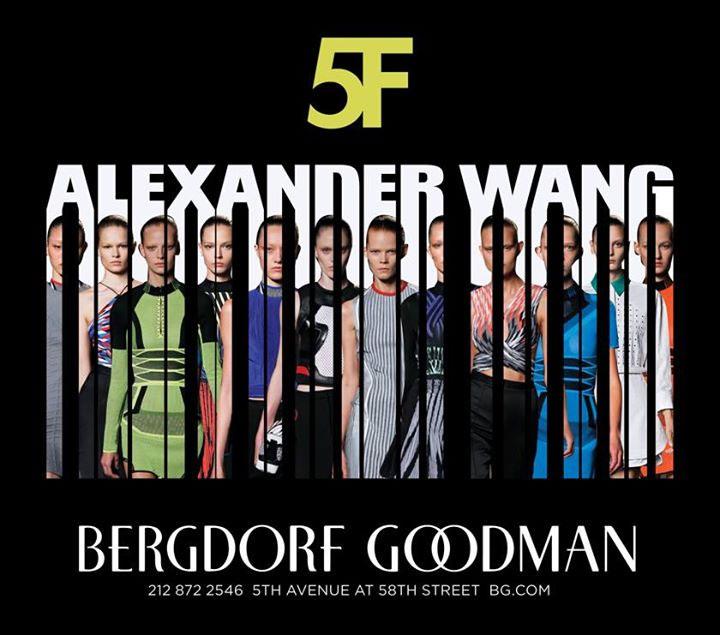 Alexander Wang Pop-up Shop at Bergdorf Goodman