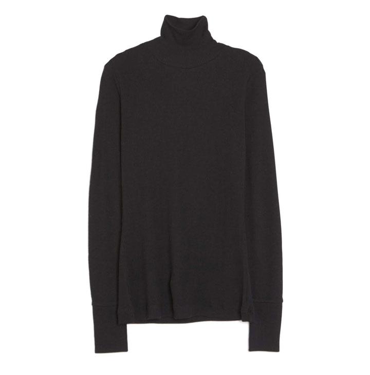 Alexander Wang Sheer Wool Turtleneck - Heather Grey: $78 (orig. $195)