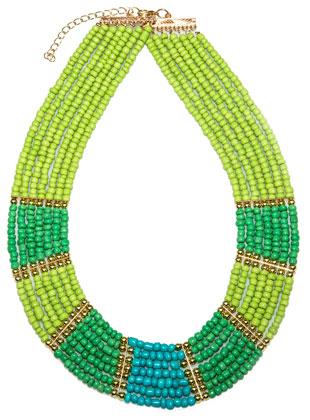 Egyptian rhapsody necklace: $20 (retail price $70)