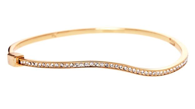 Gold galore bangle: $15 (retail price $50)