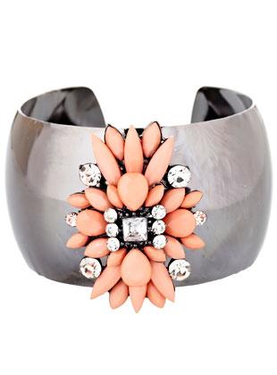 Statement cuff bracelet: $20 (retail price $60)