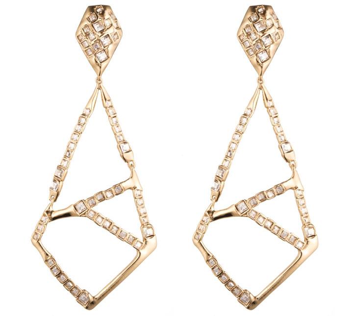Dangling Geometric Clip. Retail: $275. Sample Sale Price: $125