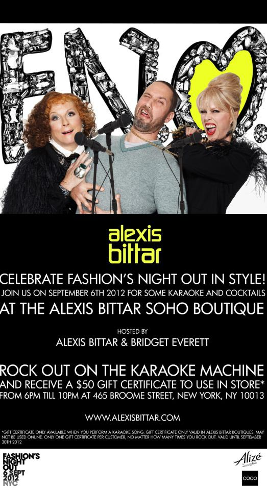 Alexis Bittar Fashion's Night Out Event