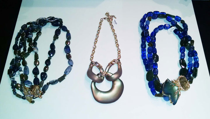 Necklaces priced between $30 and $350