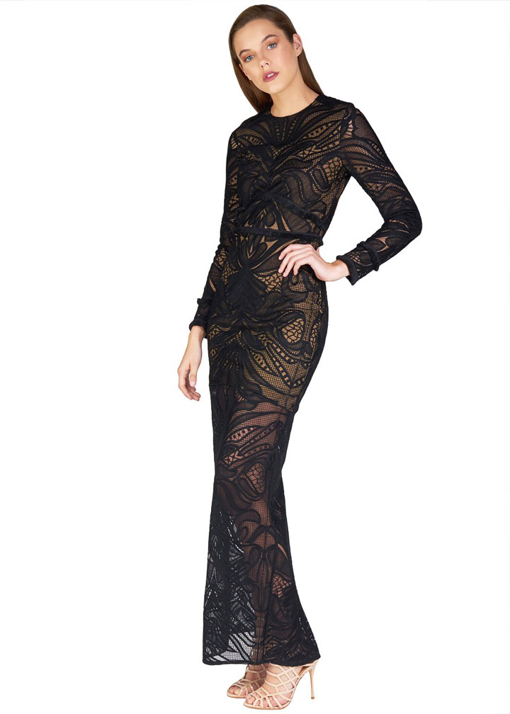 Alexis Kassidy maxi dress, original price $748, sale price $599 (extra 40% off) final price $360