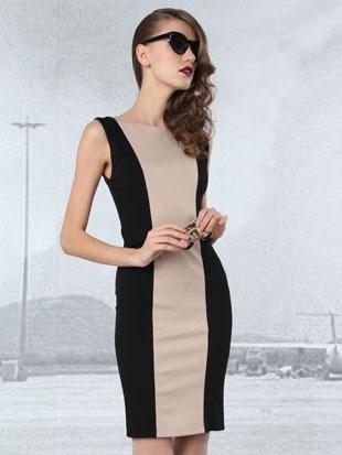Alice + Olivia Amena Fitted Dress ($129, orig. $275)