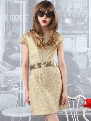 Alice + Olivia Elise A-Line Skirt Dress ($129, orig. $396)