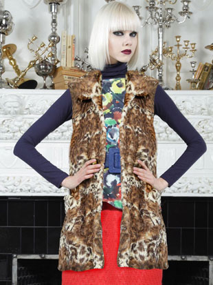 Alice + Olivia Glenna Double Pocket Long Vest ($149, orig. $368, size M)