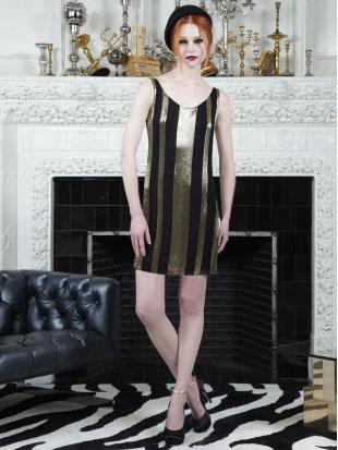 Alice + Olivia Randee Striped A-line Dress on sale ($199, orig. $597)