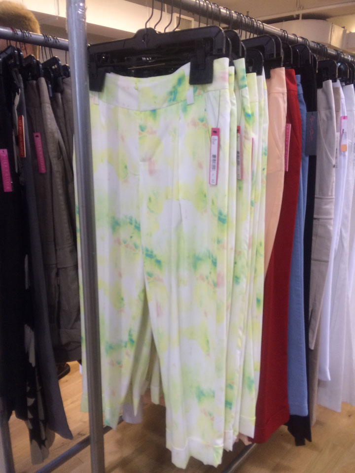 Patterned Pants for $119