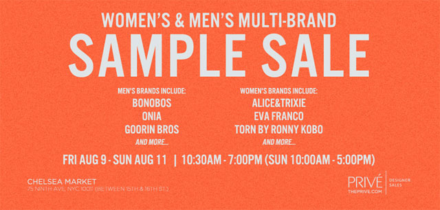 Alice & Trixie, Eva Franco & More Sample Sale