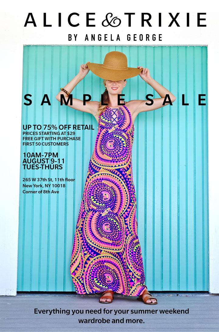 Alice & Trixie Sample Sale