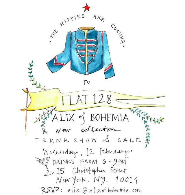Alix of Bohemia Trunk Show