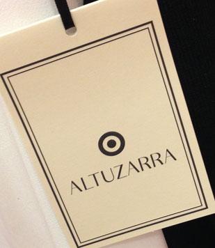Small displays dedicated to Altuzarra