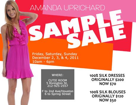 Amanda Uprichard Sample Sale