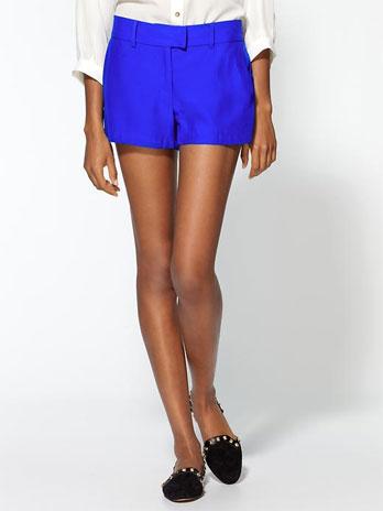 Amanda Uprichard Silk Trouser Short with Pockets: $50 (orig. $140)