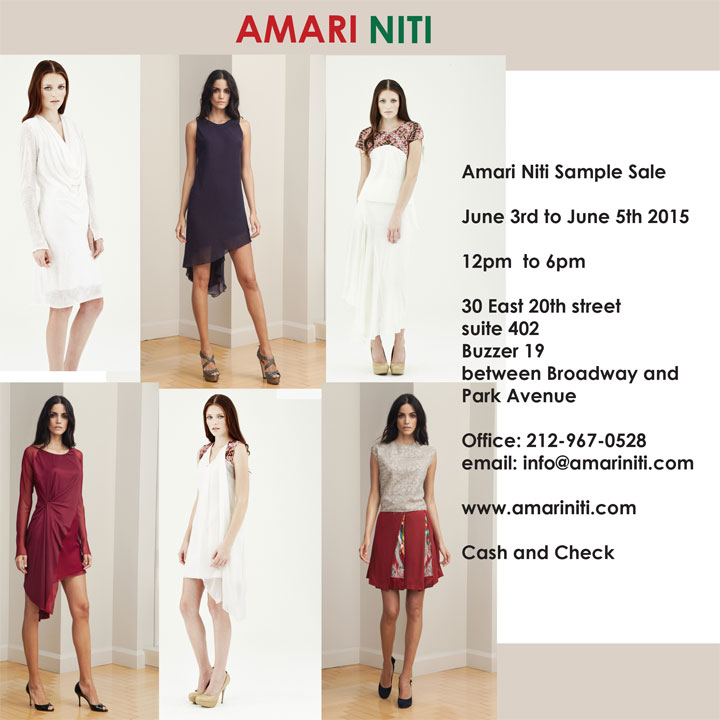 Amari Niti Sample Sale