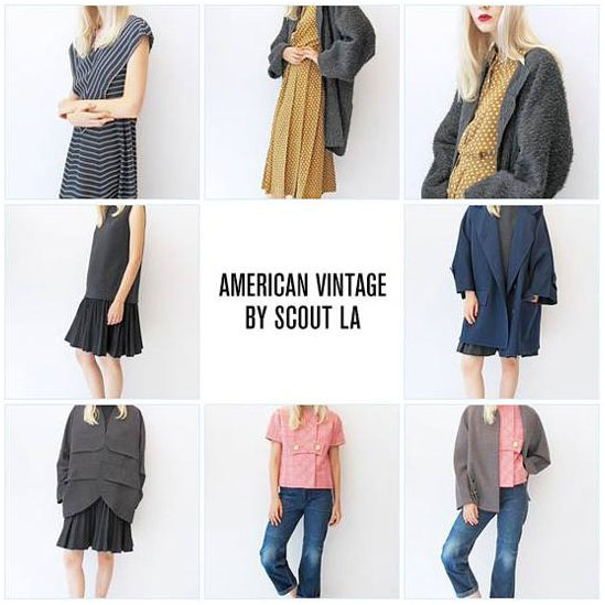 American Vintage by Scout LA Trunk Show