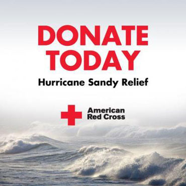 To donate $10 to the American Red Cross Disaster Relief, text the word REDCROSS to 90999 or you can call 800-RED-CROSS (1-800-733-2767).