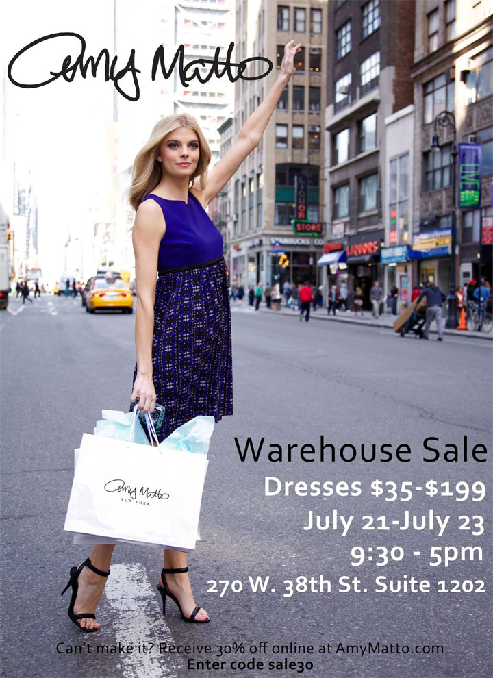 Amy Matto Warehouse Sale