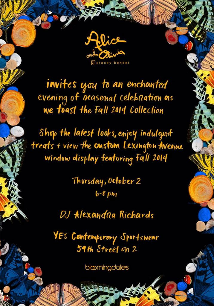 An Enchanted Evening with Alice and Olivia