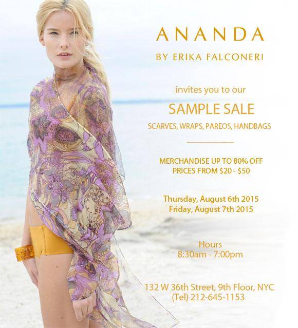 Ananda Sample Sale