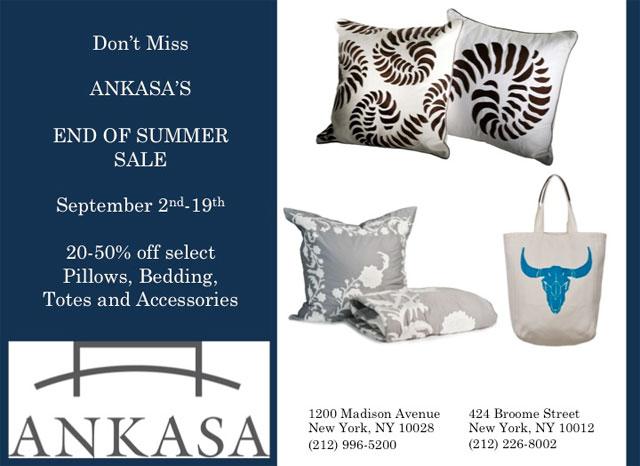 Ankasa End of Summer Sale