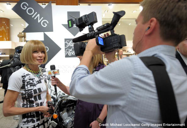 Anna Wintour at Fashions Night Out