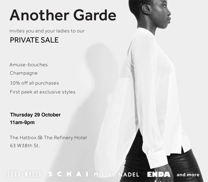 Another Garde Private Sale & Trunk Show