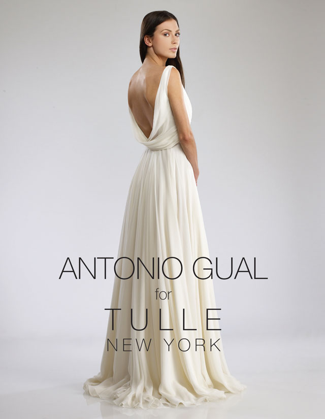 Antonio Gual for Tulle New York Trunk Show