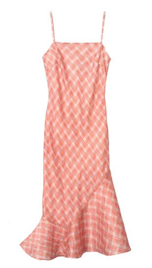 Faith Printed silk charmeuse slip dress with flare: $150 (orig. $795)