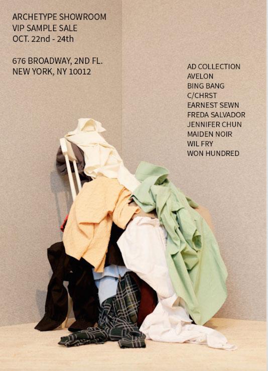 Archetype Showroom Sample Sale