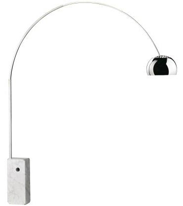 Arco floor lamp by Achille and Pier Giacomo