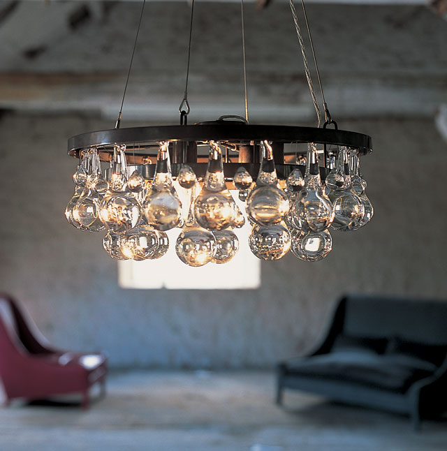 Arctic Pear Chandeliers at 60% off, SALE price $1,624
