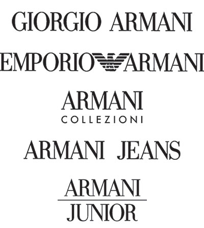 Armani Sample Sale