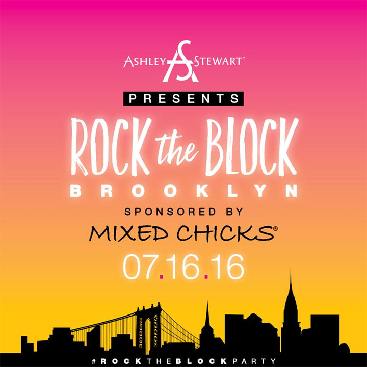 Ashley Stewart Rock the Block Brooklyn Party