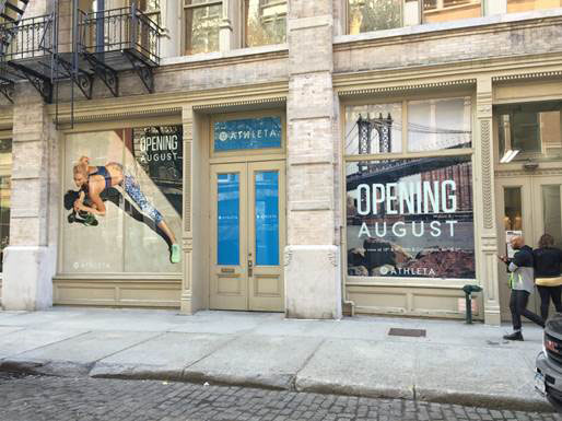 Athleta Opens New Store in Soho