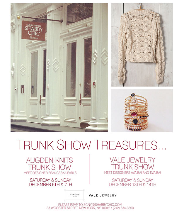 Vale Jewelry Trunk Show