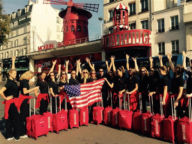 BEST OF FRANCE Festival for Moulin Rouge's Cancan
